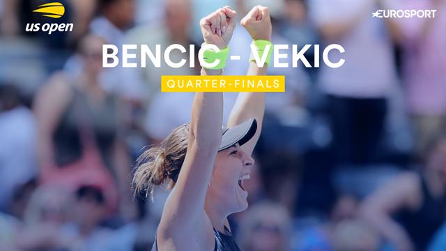 US Open 2019: Bencic-Vekic, vídeo resumen del partido