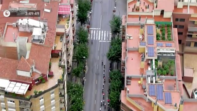 Helikopter-filming av sykkelritt endte med hasj-raid