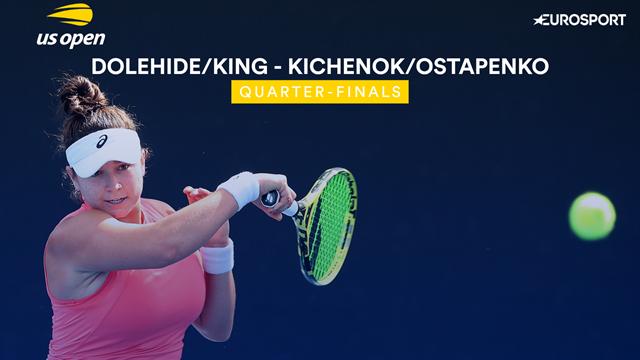 US Open 2019: Dolehide / King vs Kichenok / Ostapenko