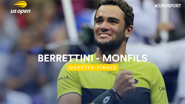 Tutto il meglio di Berrettini-Monfils in 190 secondi: il sogno è realtà