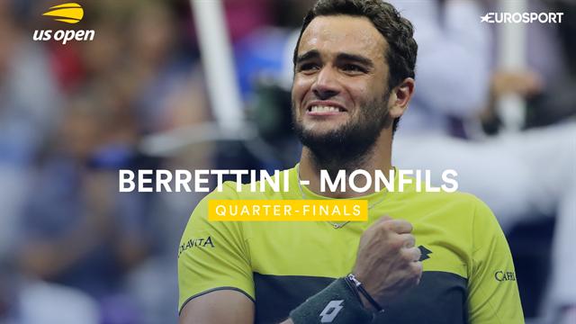 US Open | Samenvatting Berrettini - Monfils