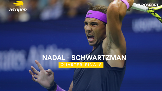 US Open: Nadal-Schwartzman 6-4 7-5 6-2, gli highlights