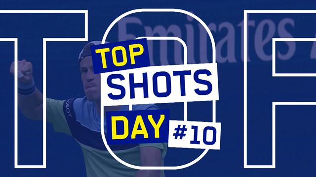 US Open | Top 5 punten van dag 10