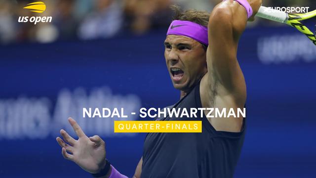 US Open| Uitgebreide samenvatting Nadal-Schwartzman