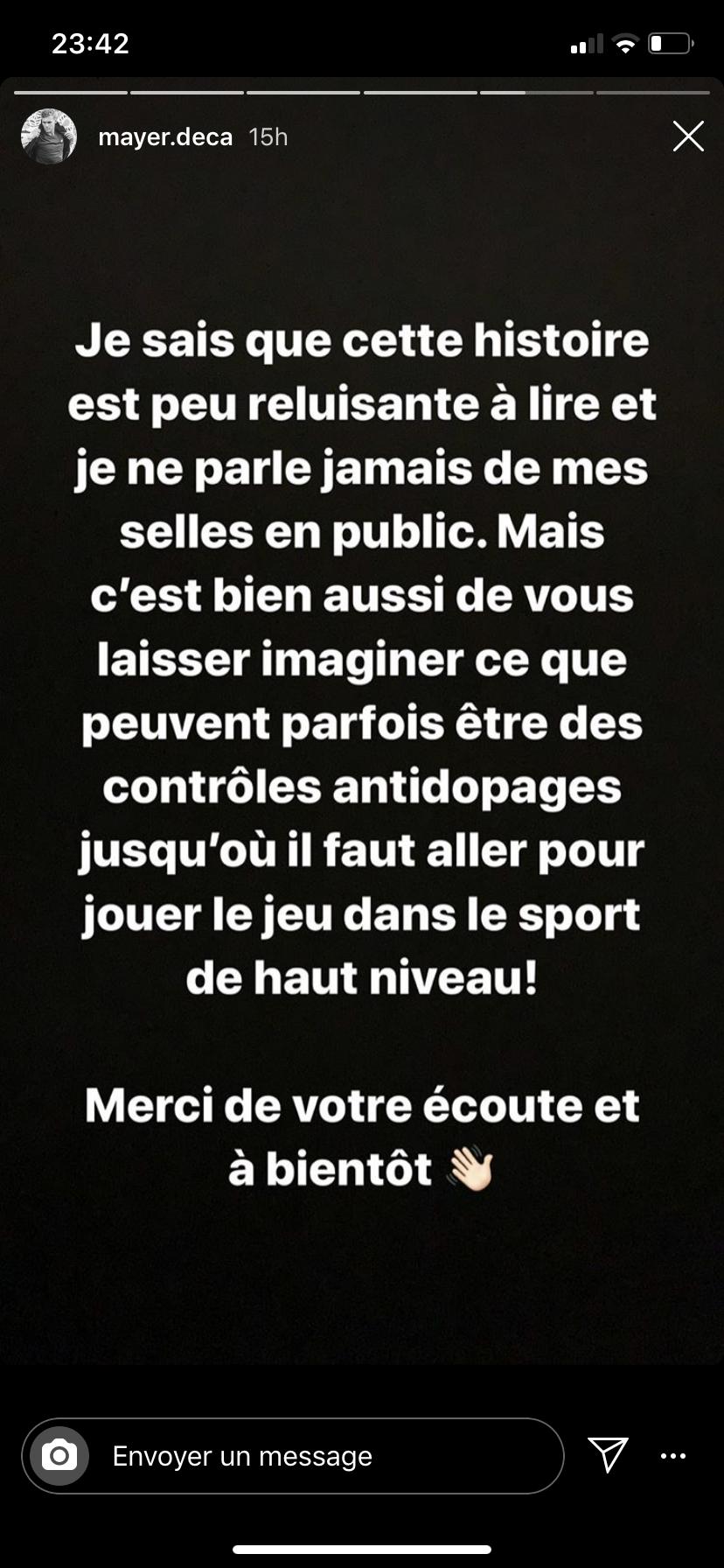 Kevin Mayer Instagram