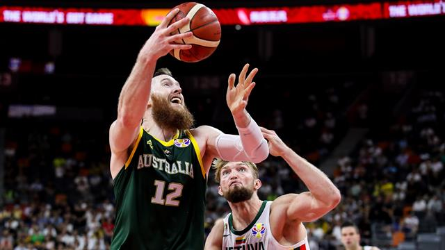 Australia claim Olympic spot with Lithuania win