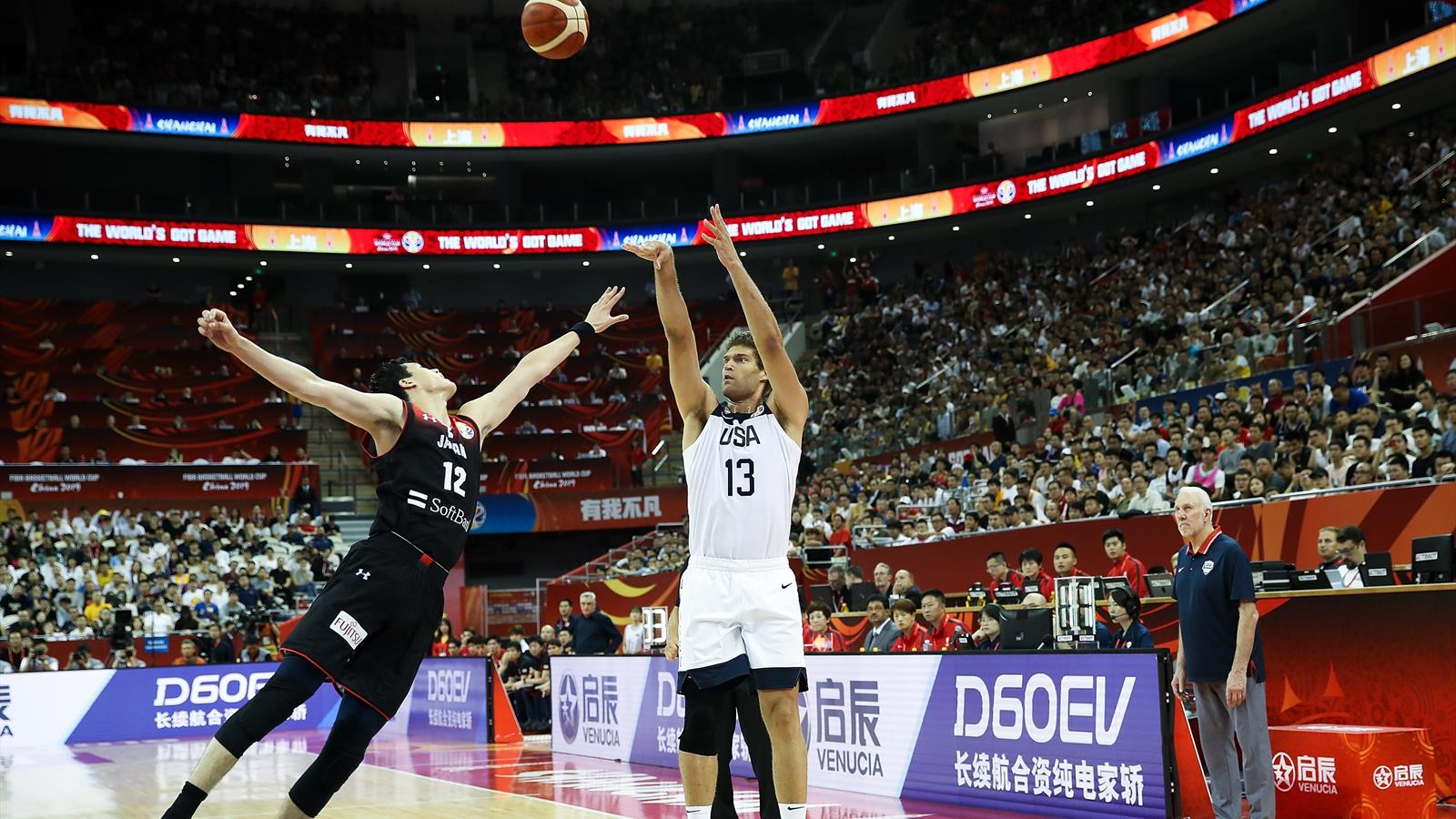Unbeaten USA routs Japan at FIBA World Cup