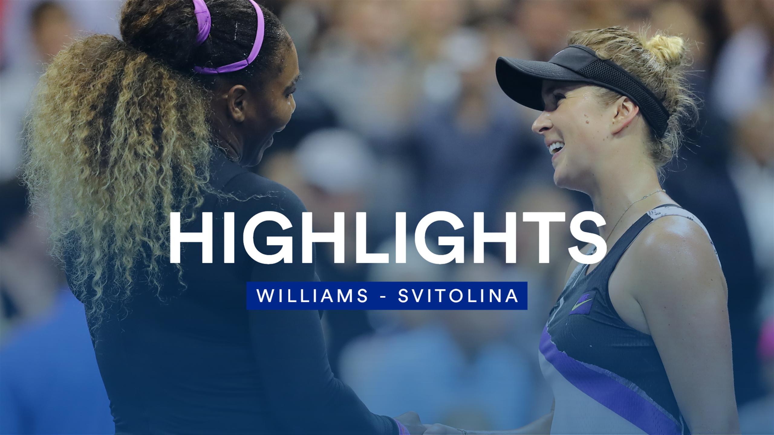 Обзор матча Элина Свитолина - Серена Уильямс на US Open (ВИДЕО)