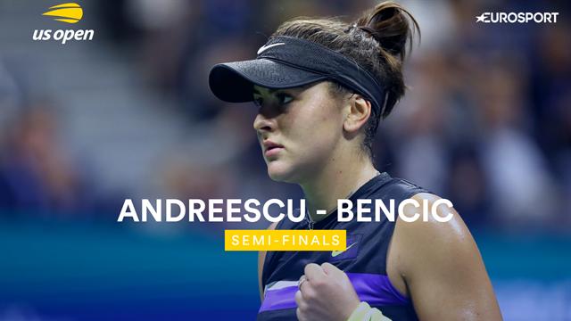 Andreescu - Bencic : Les temps forts