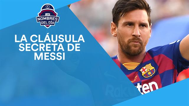 Messi, Piqué, Neymar, Andreescu y Nadal, los nombres del día