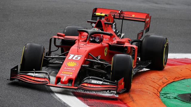 Libres 1 : Leclerc chauffe les tifosi