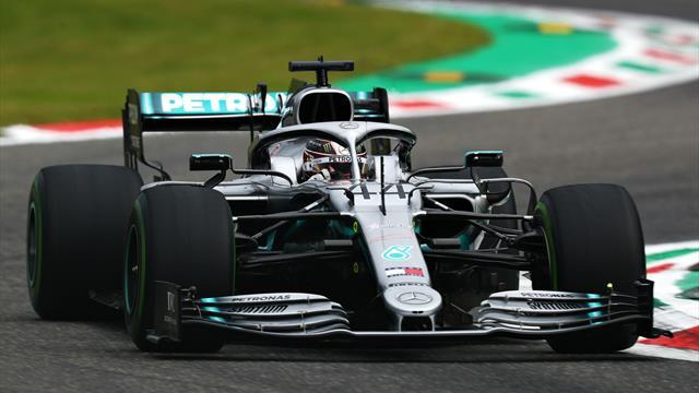 Mercedes prépare un jeu d'aspiration pour viser la pole