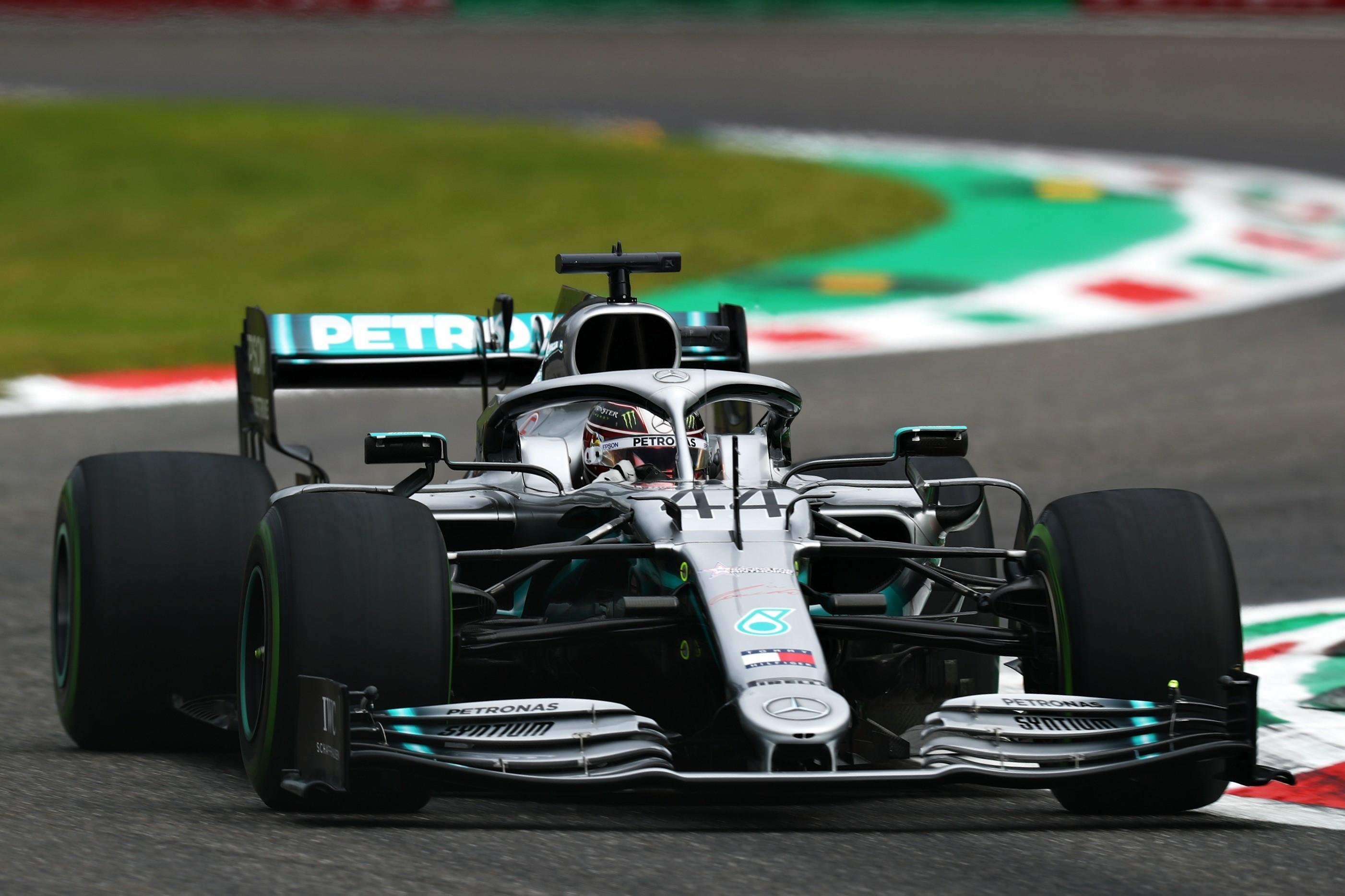 Lewis Hamilton (Mercedes) au Grand Prix d'Italie 2019
