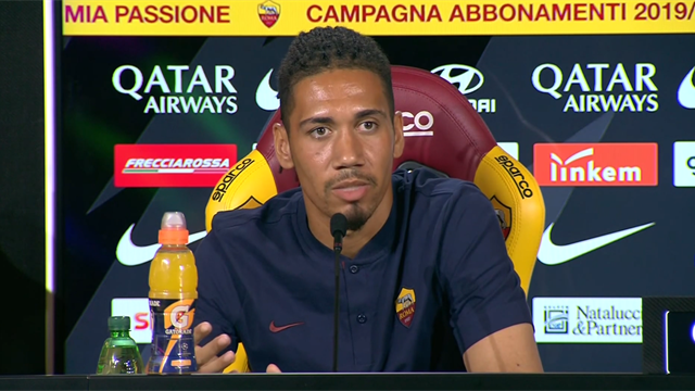Smalling says racism is 'unacceptable' as he settles in at Roma