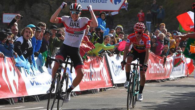 La Vuelta parla sloveno: vince Pogacar, Roglic rafforza la roja! Lopez prende 1 minuto