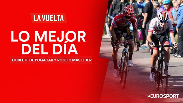 Vuelta a España2019, lo mejor del día (13ª etapa): Exhibición que hace aún más líder a Roglic