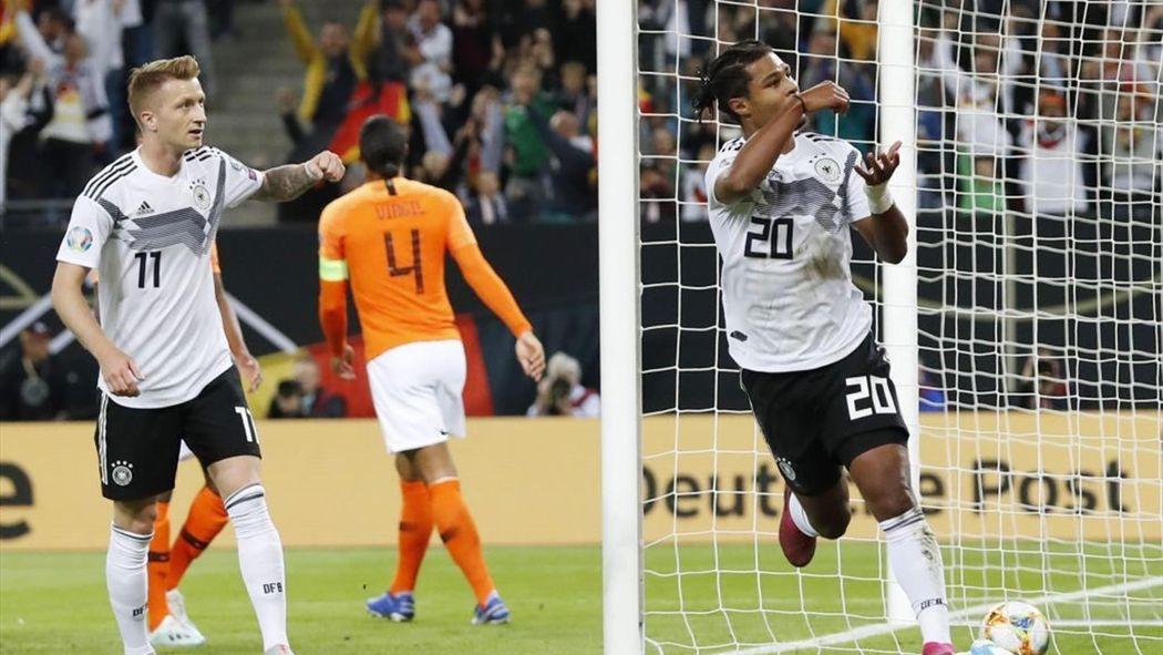 Em Qualifikation Deutschland Niederlande Im Livestream