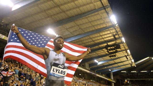 Et maintenant, le 200 : Lyles ne laisse rien à la concurrence