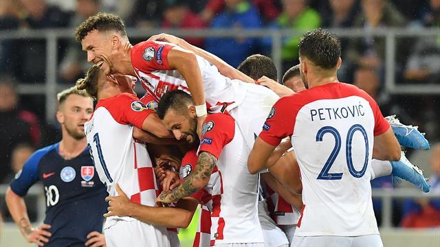 Euro 2020 round-up: Croatia ease past Slovakia