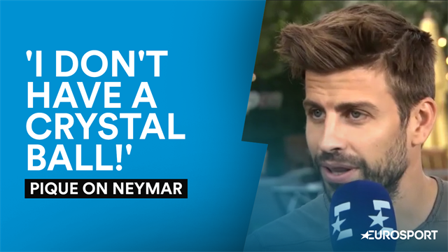 Pique reveals advice he gave to Neymar in Becker exclusive