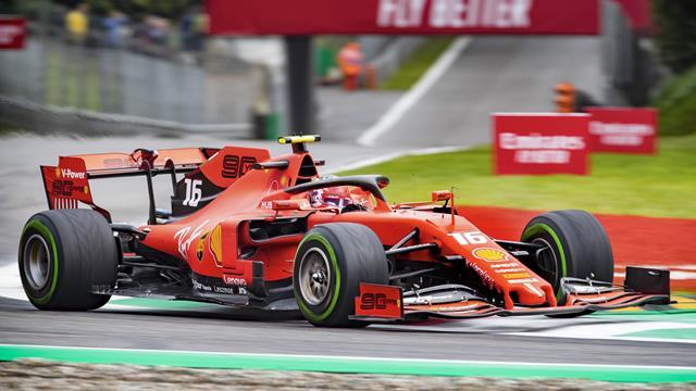 Leclerc pole position di strategia a Monza! Hamilton secondo, poi Bottas e Vettel