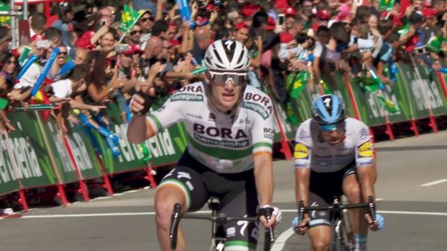 Chute spectaculaire et Bennett a tiré les marrons du feu : l'arrivée de la 14e étape