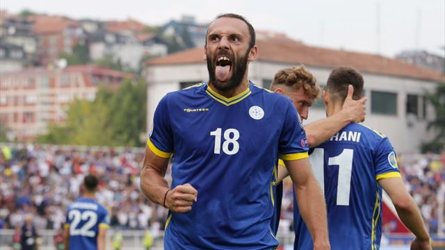 Kosovo sweep past Czechs with late goal in Euro qualifier