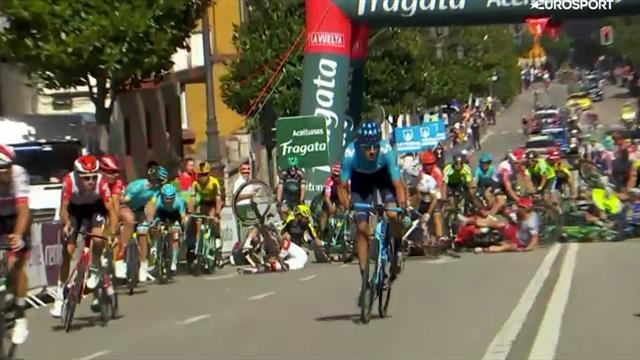 Drama i Vueltaen: Her går sammenlagtkanonene i bakken