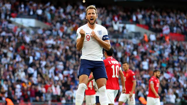 Hat-trick for Kane as England rout Bulgaria at Wembley