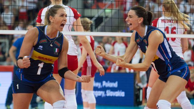 Euro 2019 féminin de volley : gros plan sur les demi-finales
