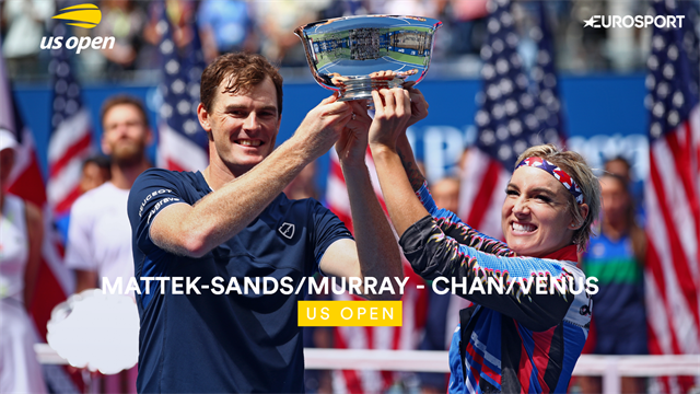 US Open 2019: Chan/Venus vs Mattek/Murray, vídeo resumen del partido