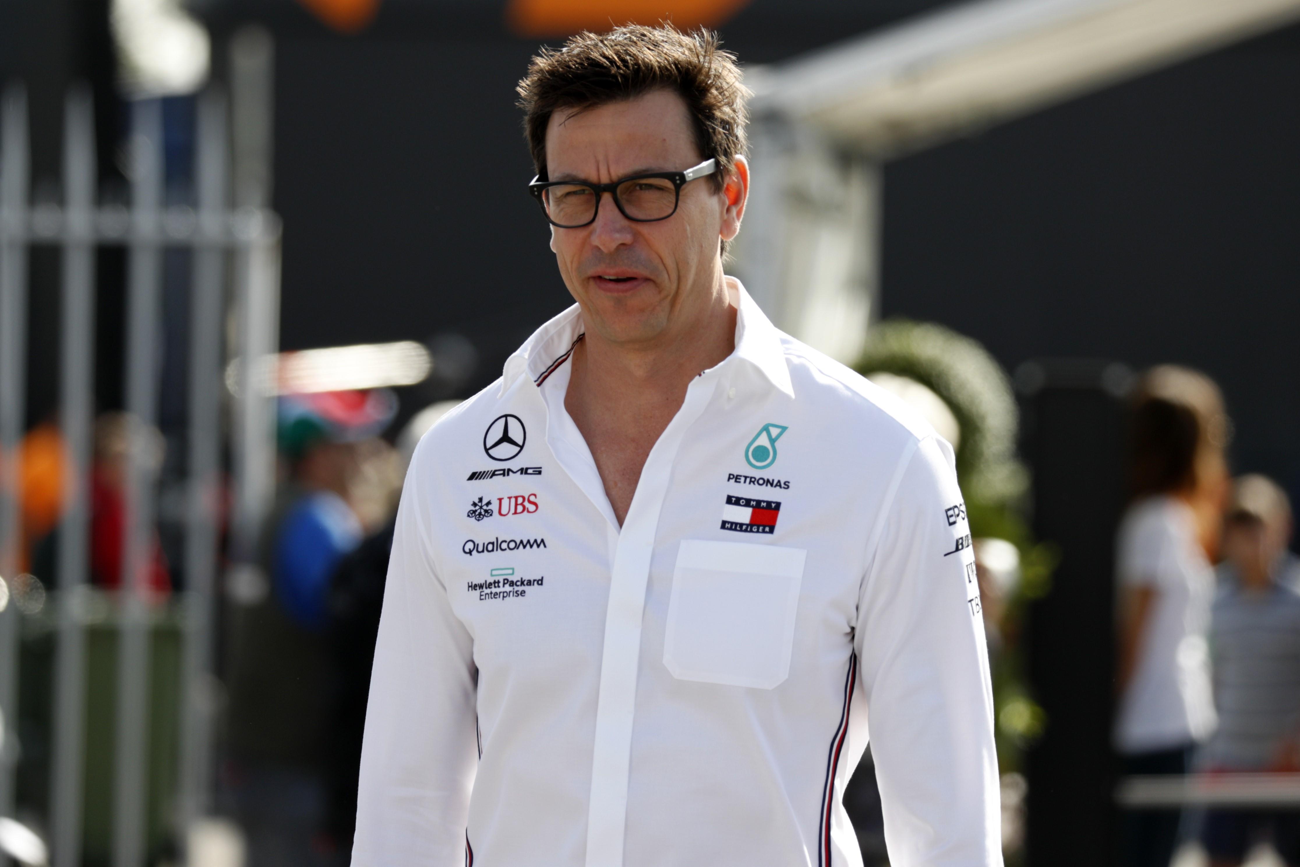 Toto Wolff (Mercerdes) au Grand Prix d'Italie 2019