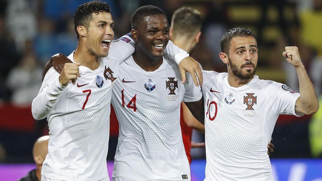 Calendrier Portugal Euro 2020.Le Portugal S Impose En Serbie 2 4 Ronaldo Et Bernardo