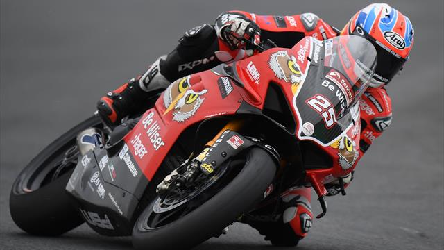 Brookes takes seventh win of the season in British Superbikes at Oulton