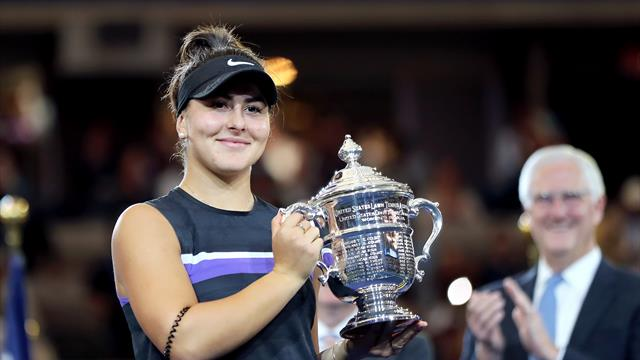 Andreescu wins US Open for first Slam as Serena falls short again