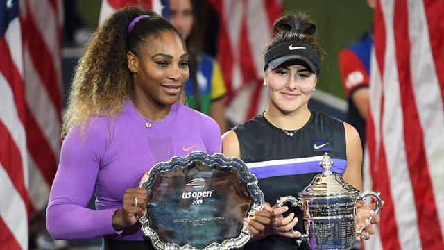 Amerika Açık kadınlar finali özeti (Bianca Andreescu - Serena Williams)