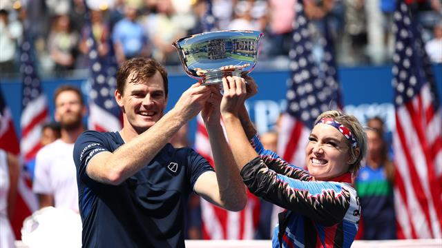Murray, Mattek-Sands retain mixed doubles crown at Flushing Meadows
