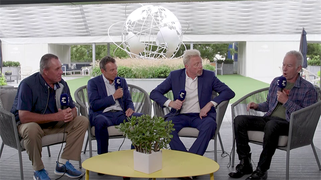 Tennis Legends: 'Time for mean stories!' - Wilander, Lendl, Becker and McEnroe share favourite tales