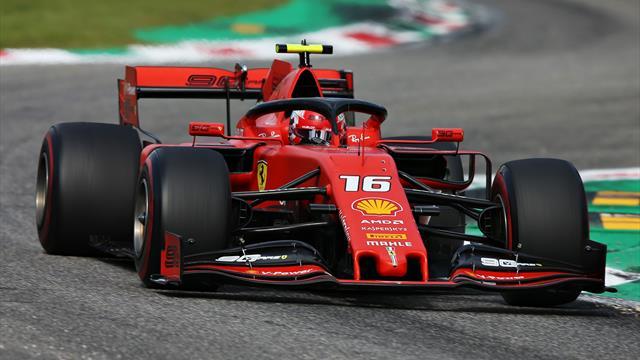 """""""Wie ein Idiot"""": Debakel für Vettel - Leclerc feiert Ferrari-Heimsieg in Monza"""