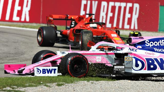 Dreher, Crash, Chaos: Vettel schießt Stroll ab und kassiert Strafe