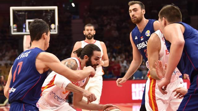 Basketball-WM: Spanien gewinnt Topspiel gegen Serbien