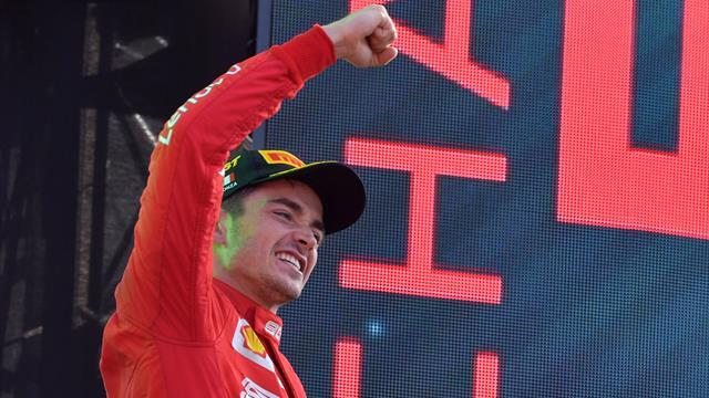 """Leclerc raggiante: """"Non sono mai stato così stanco, ma vincere qui è un sogno"""""""