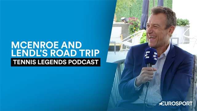 Tennis Legends: McEnroe and Lendl's bizarre car journey