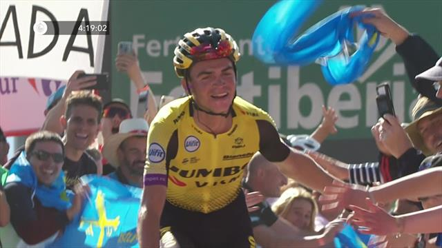 Roglic résiste à Valverde et impressionne — Vuelta