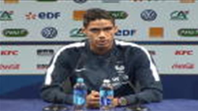"""Bleus - Varane : """"Coman sait où il veut aller"""""""