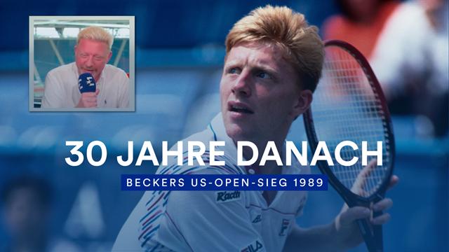 """Becker kommentiert sein US-Open-Finale gegen Lendl: """"Dieses Bild ging um die Welt"""""""