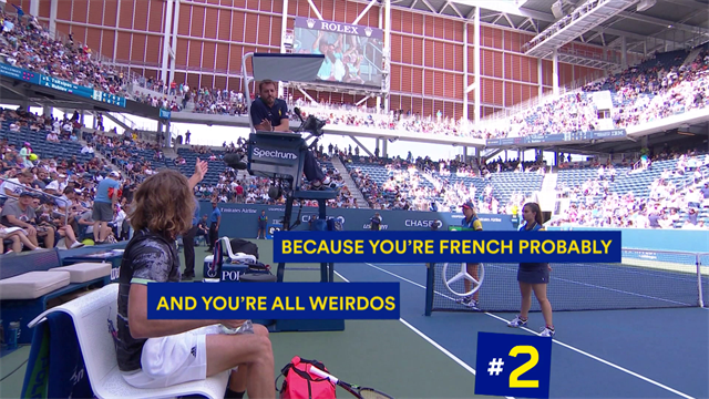 Top 5 US Open: polemiche, eccessi di rabbia e urla, gli episodi più eclatanti del torneo