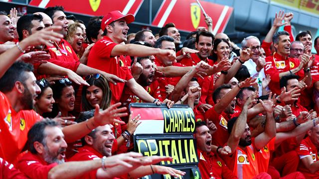 """""""Triumph gleicht einer Krönung"""": Die Presse feiert Monza-Sieger Leclerc"""