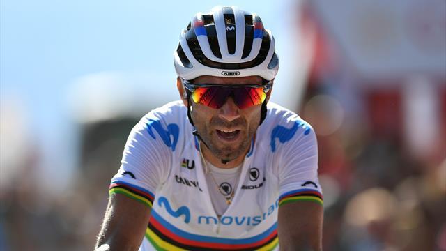 Valverde hoping Roglic will 'crack' again