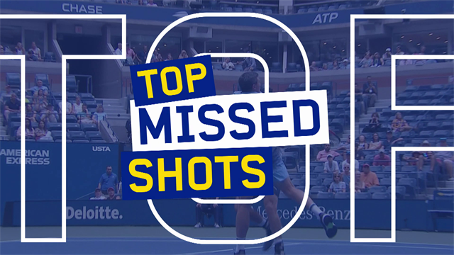 Top 10 US Open: gli errori più grossolani del torneo, da Tsitsipas a Townsend